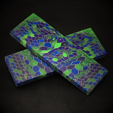 Load image into Gallery viewer, Aluminum Honeycomb and Urethane Resin Custom Knife Scales #21031