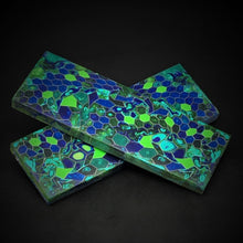 Load image into Gallery viewer, Aluminum Honeycomb and Urethane Resin Custom Knife Scales #21046