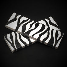 Load image into Gallery viewer, Zebra Stripes Urethane Resin Custom Knife Scales #21079