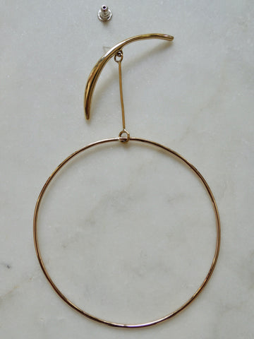 Phase Hoop Earrings (Single)