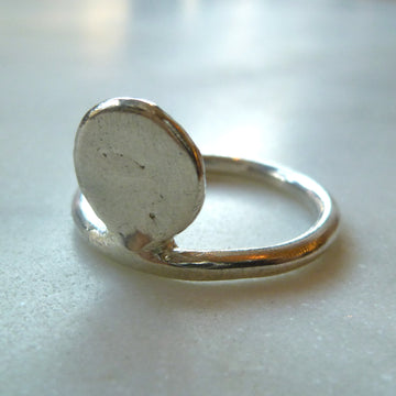 Silver Flap Ring