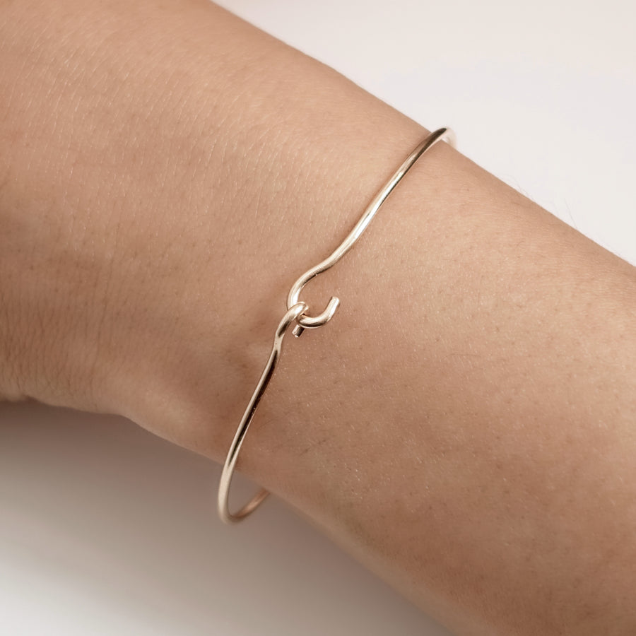 Interlocking Gold Bracelet