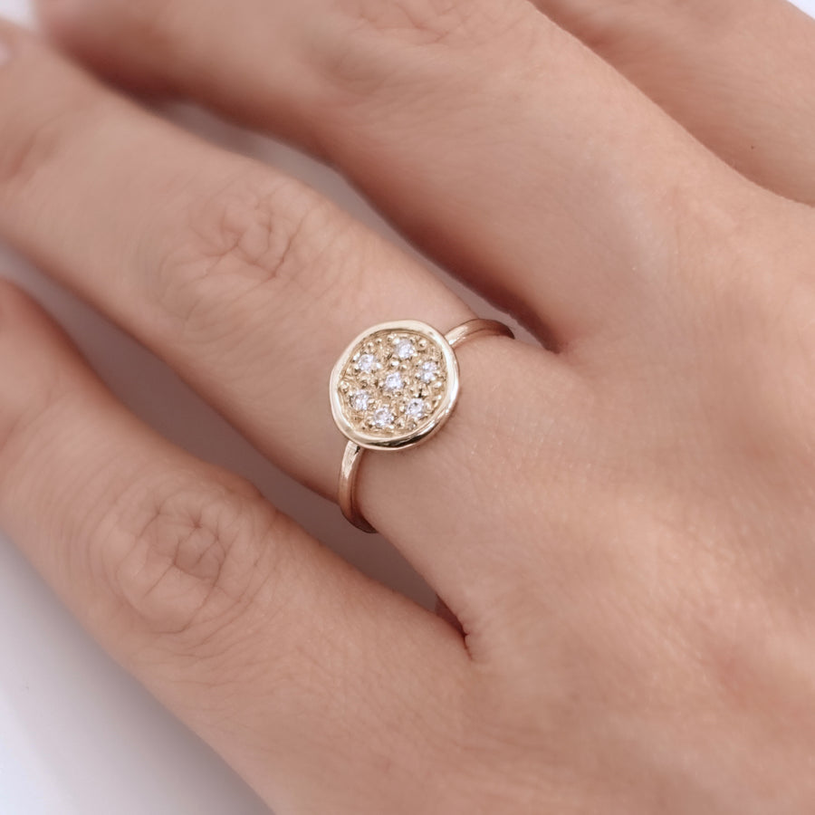 Seven Diamond Ring