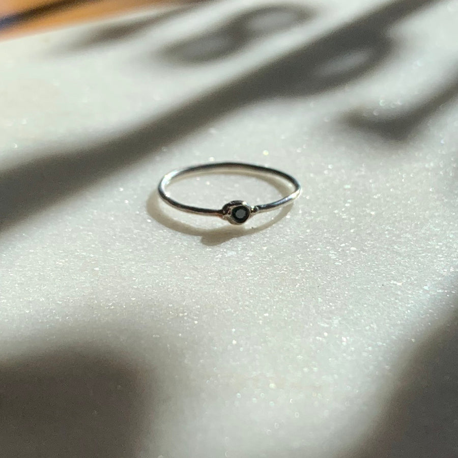 Chiko Black Diamond Ring