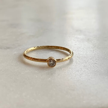 Taru Textured Diamond Ring