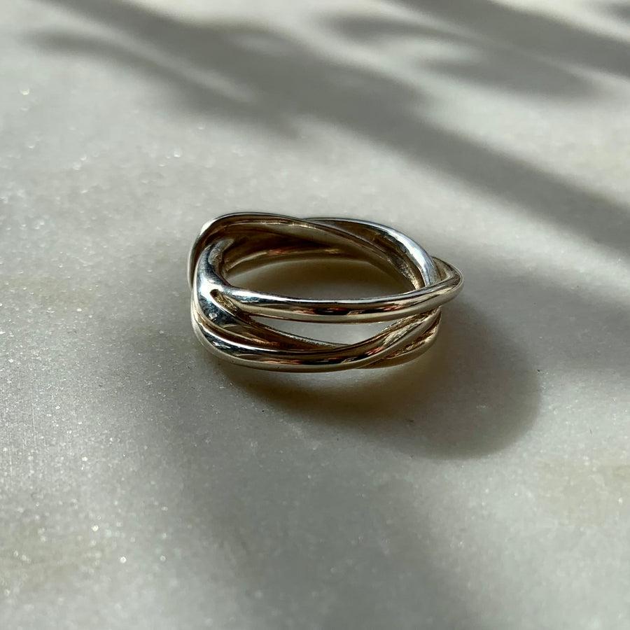 Tangle Ring Sterling Silver