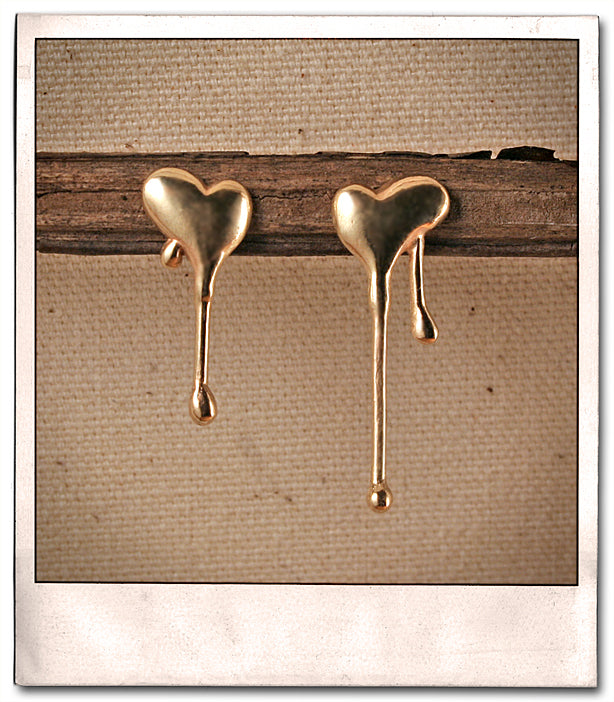 Melting Heart Earrings