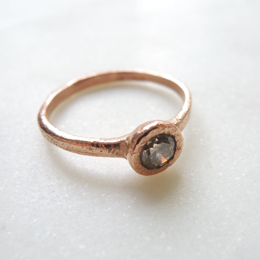 Luna Brown Diamond Ring