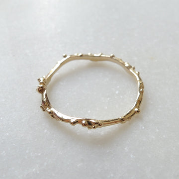 Coral Branch Ring