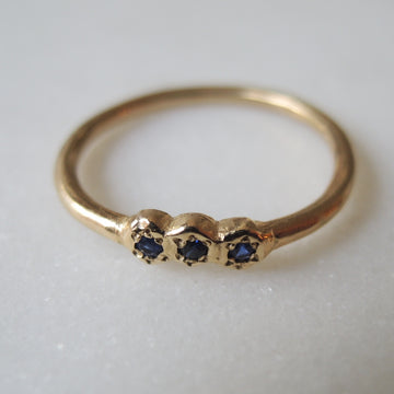 Trio the Sapphire Ring