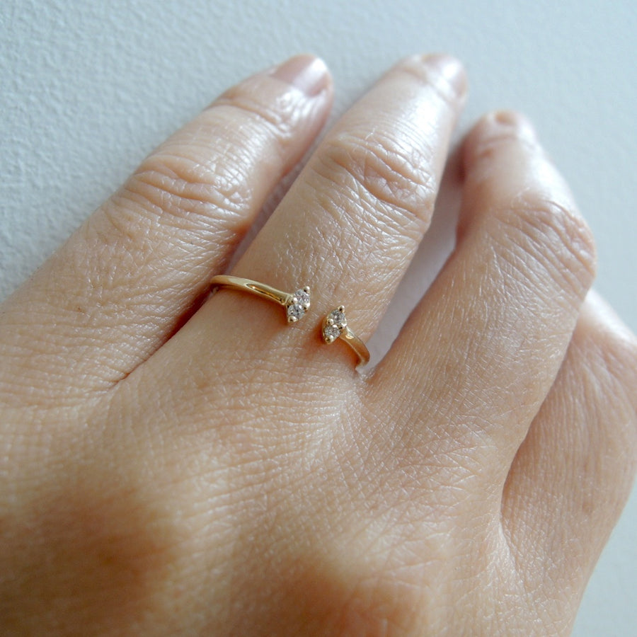 Mai Open Diamond Ring