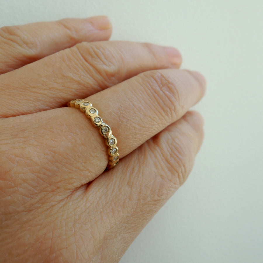 Shizuku Diamond Eternity Ring