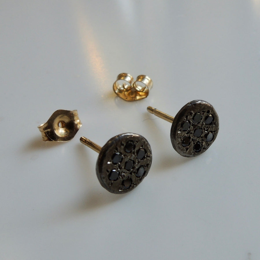 Kyoto Black Diamond Earrings