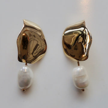 LECCA Pearl Drop Earrings
