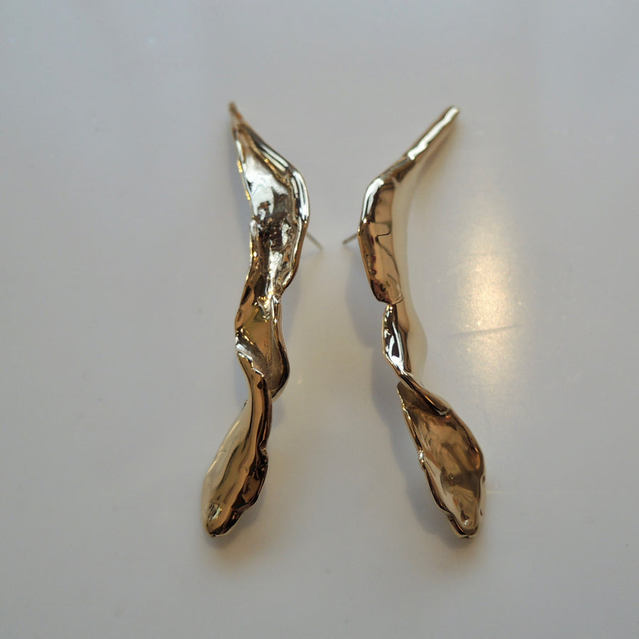 Bronze Folia Earrings