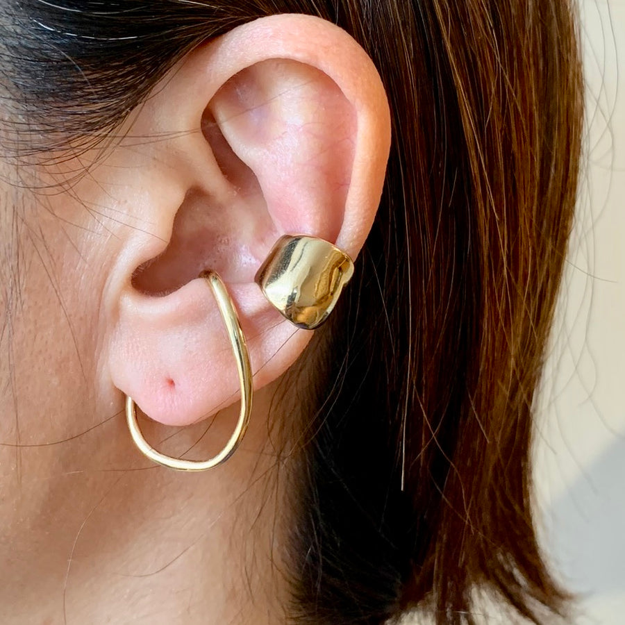Small Bubble Ear Cuff (Single) Earring