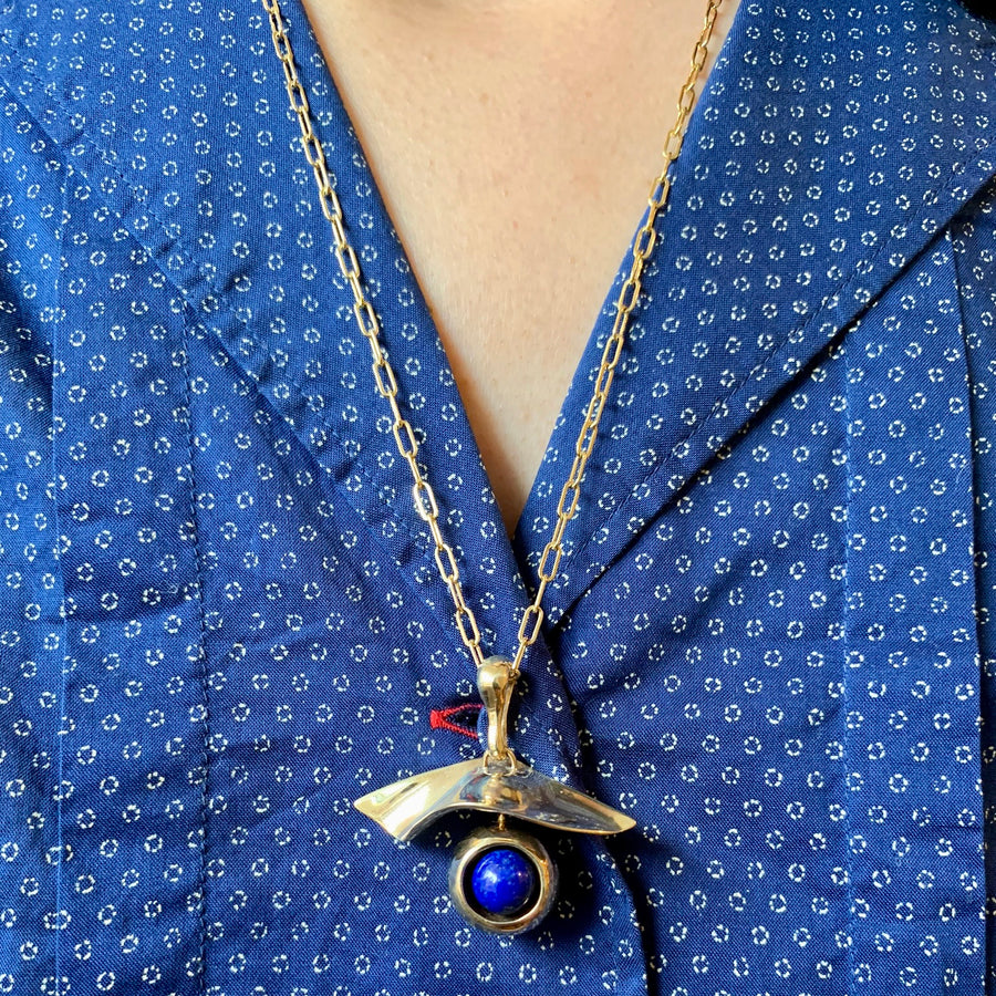 Gaze Lapis Necklace