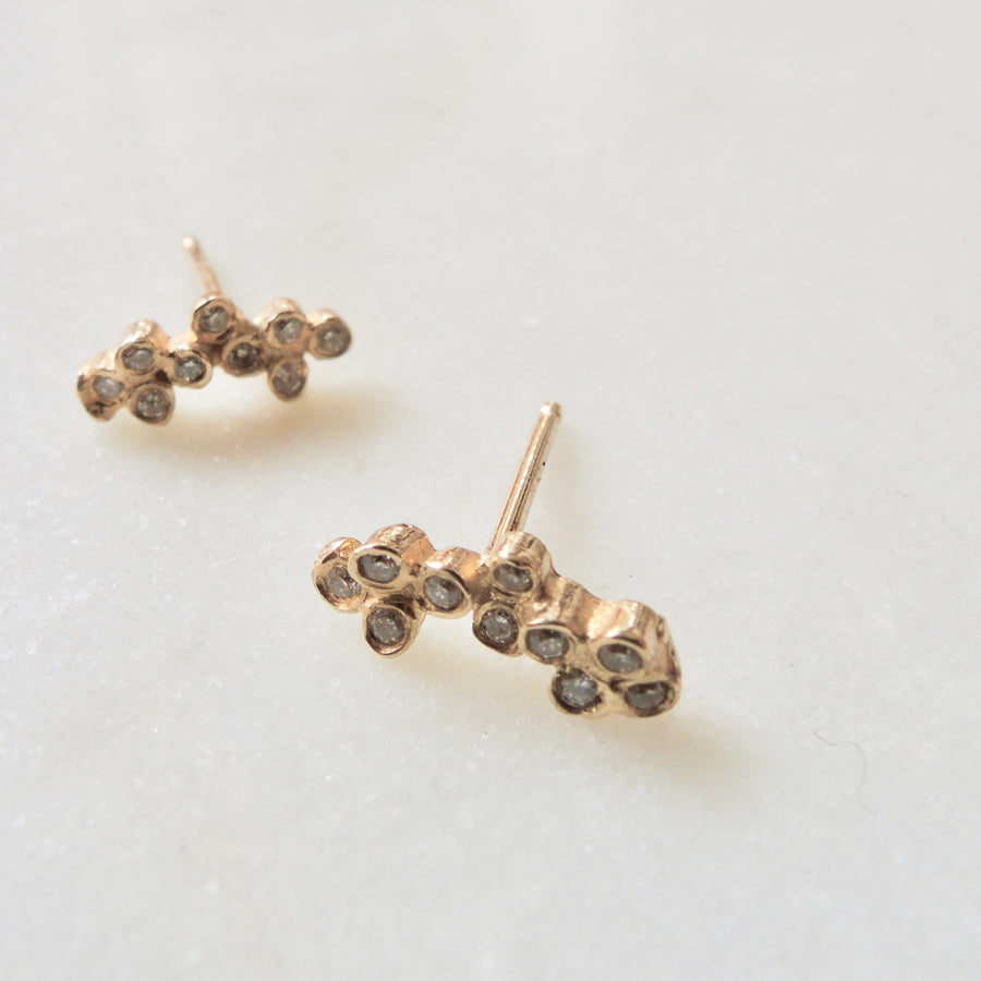 Diaomond Milky Way Earrings