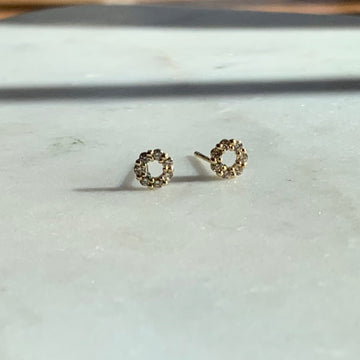 Diamond Wreath Earrings