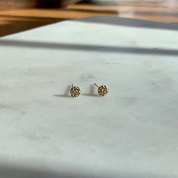My Little Sunshine Diamond Earrings