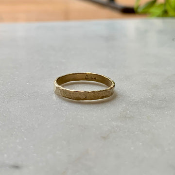 3 mm Wide Downtown Ring