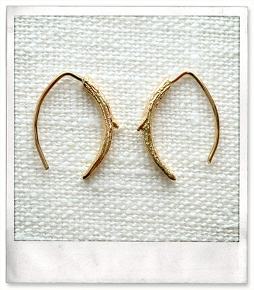 Hanging Twig Earrings
