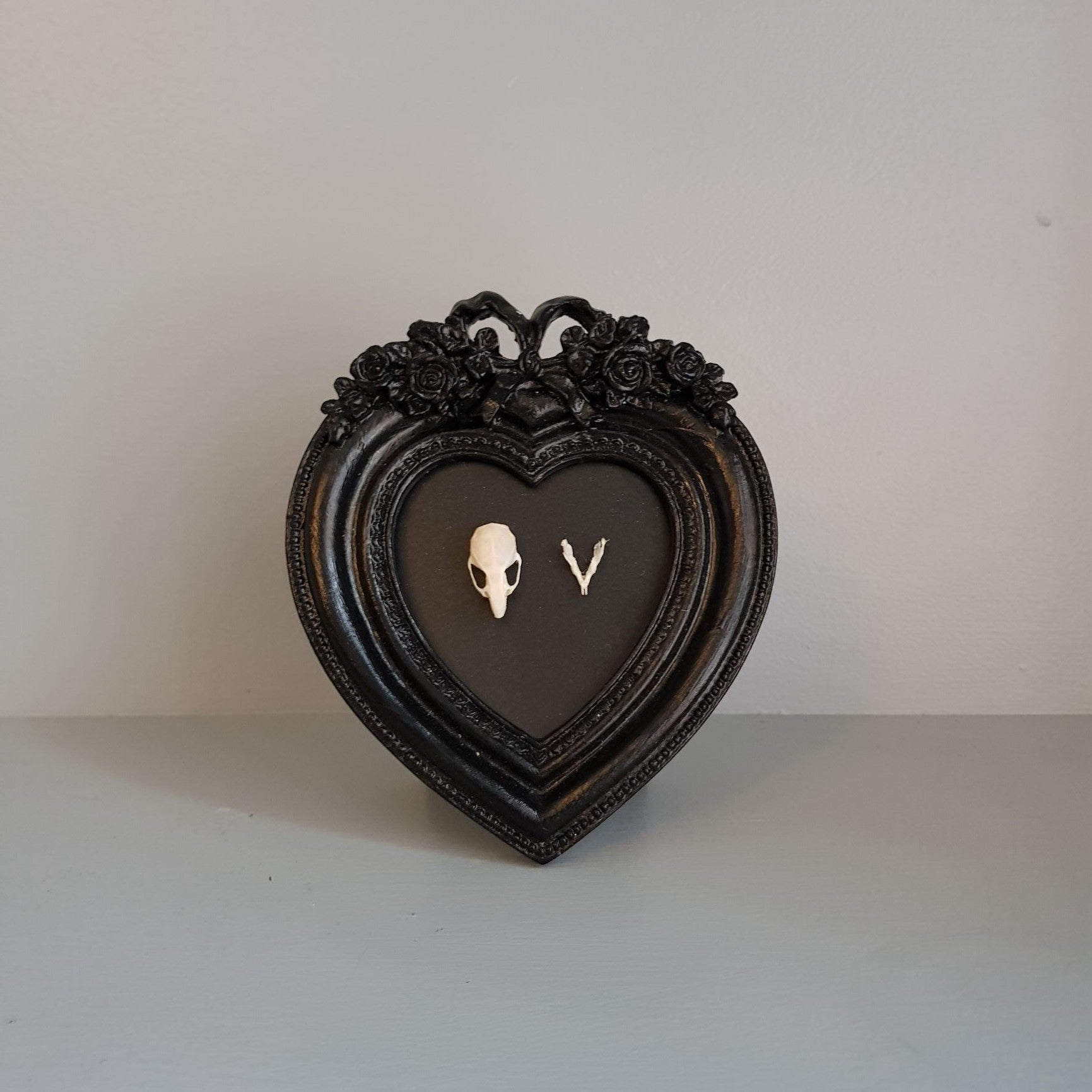 gemmas-curiosity-shop - Mouse skull frame - Gemma's Curiosity Shop - Oddity