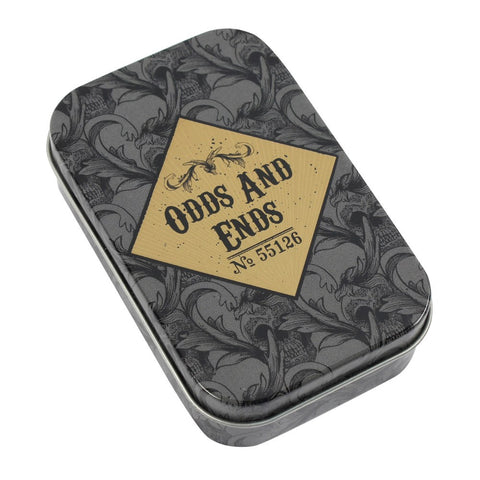 gemmas-curiosity-shop - Odds and Ends Metal storage Tin - Gemma's Curiosity Shop - Storage