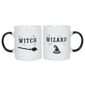 gemmas-curiosity-shop - Witch and Wizard Mug Set - Gemma's Curiosity Shop - Mug