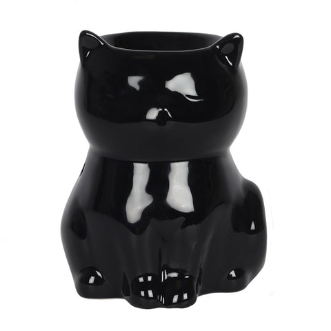 gemmas-curiosity-shop - Black Cat Oil Burner - Gemma's Curiosity Shop - Oil Burner