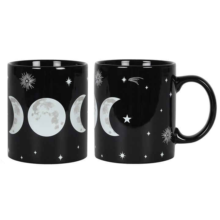 gemmas-curiosity-shop - Triple Moon Mug - Gemma's Curiosity Shop - Mug