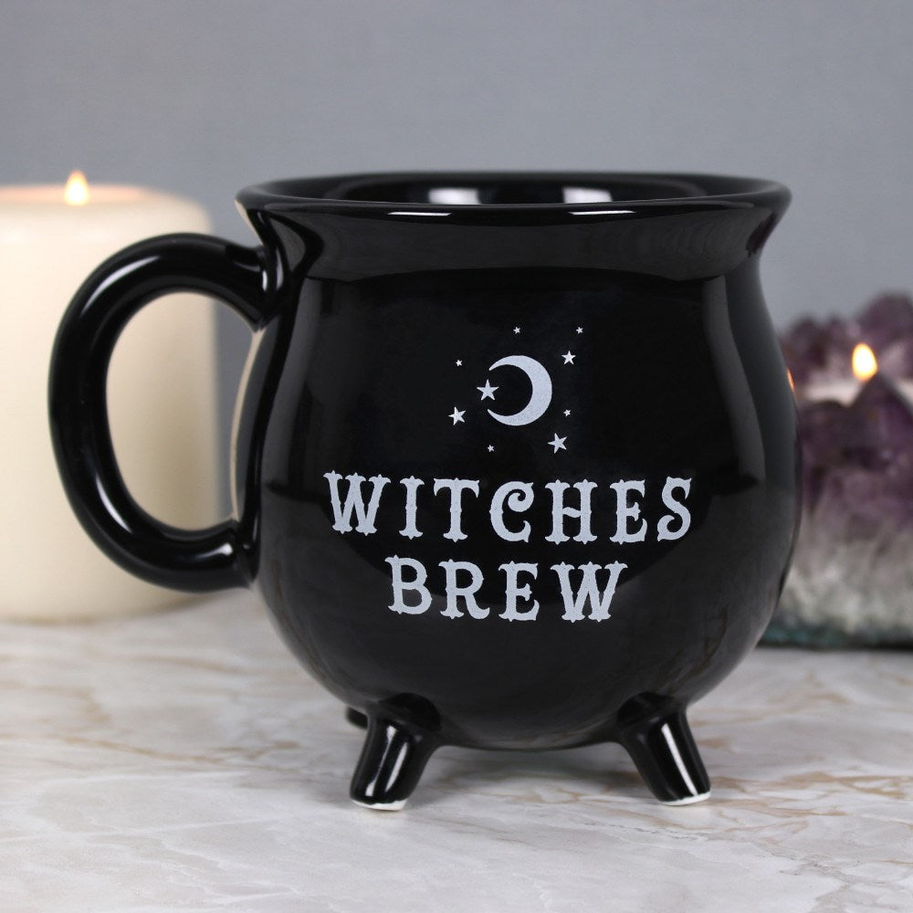 gemmas-curiosity-shop - Witches Brew Cauldron Mug - Gemma's Curiosity Shop - Mug
