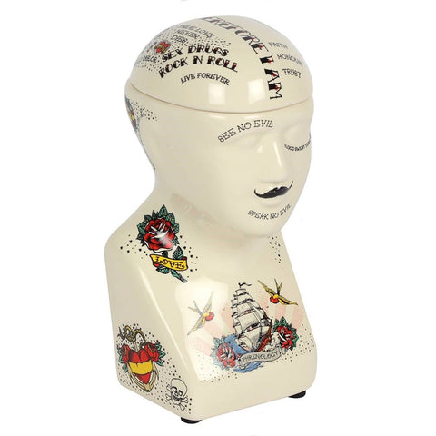 gemmas-curiosity-shop - Phrenology Head Storage - Gemma's Curiosity Shop - Storage