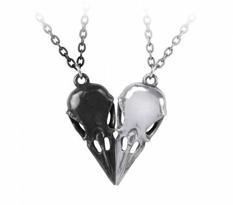 gemmas-curiosity-shop - Coeur Crane - Couple's Friendship Necklace - Alchemy - Jewellery