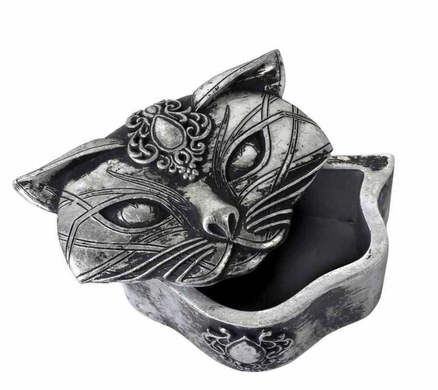 gemmas-curiosity-shop - Sacred Cat Trinket Box - Gemma's Curiosity Shop - Storage