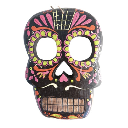 gemmas-curiosity-shop - Flat Skull - Gemma's Curiosity Shop - Day of the Dead