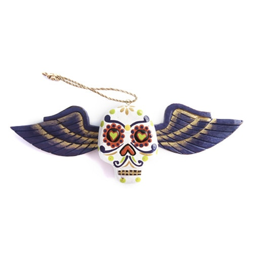 gemmas-curiosity-shop - Skull Wing - Gemma's Curiosity Shop - Day of the Dead