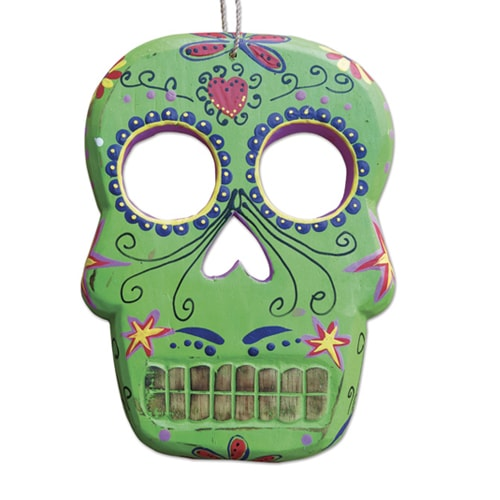 gemmas-curiosity-shop - Small Skull Wall Hanging - Gemma's Curiosity Shop - Day of the Dead