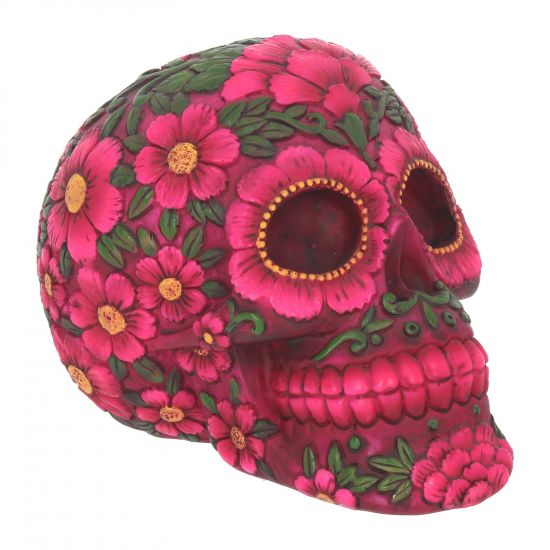 gemmas-curiosity-shop - Sugar Blossom Skull - Gemma's Curiosity Shop - Day of the Dead
