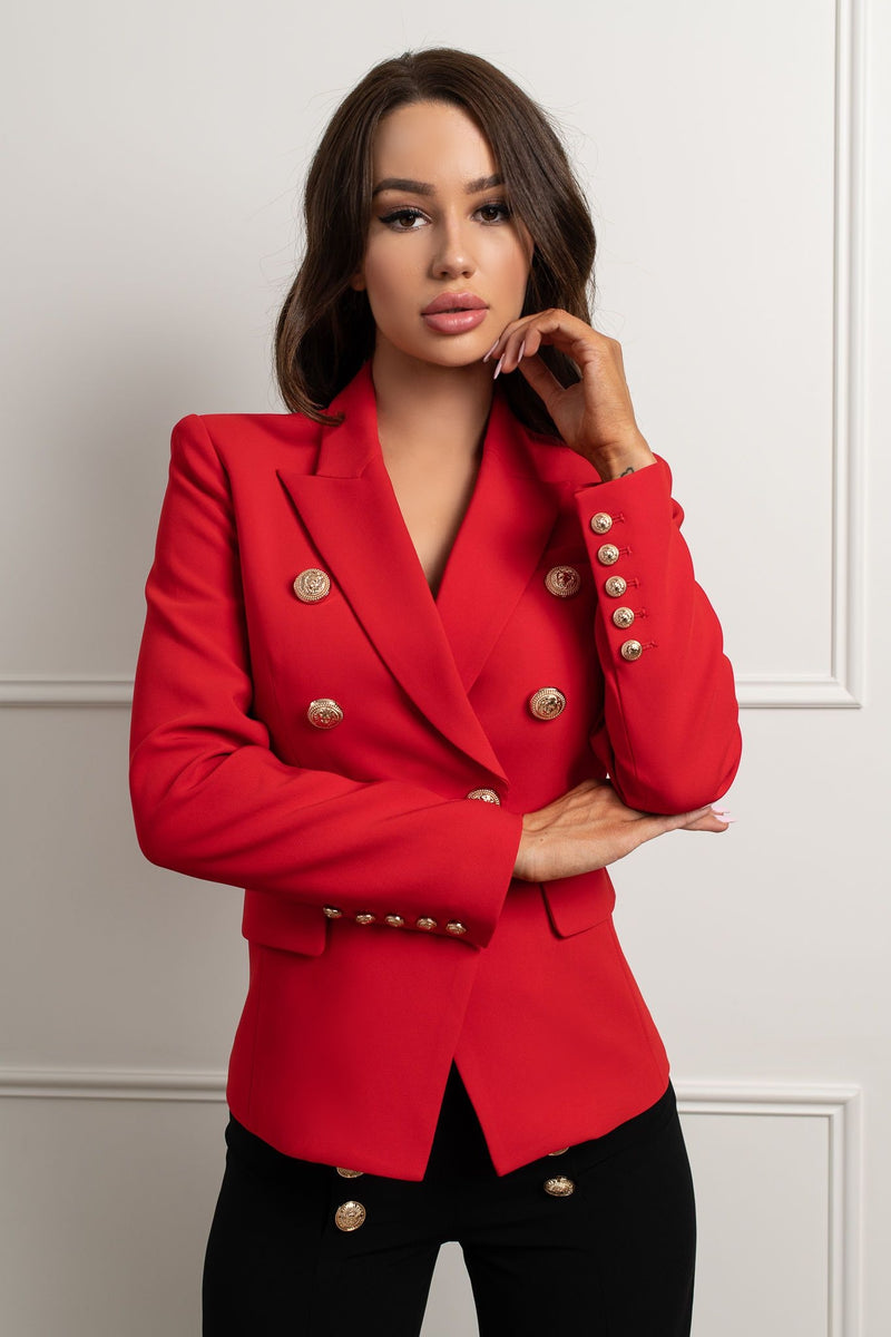 Charny Blazer- Red.