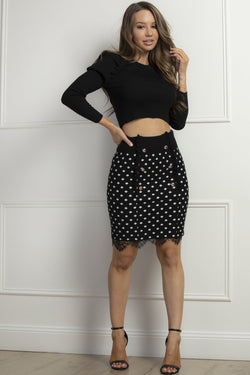 Dina Skirt- Polka Dot.