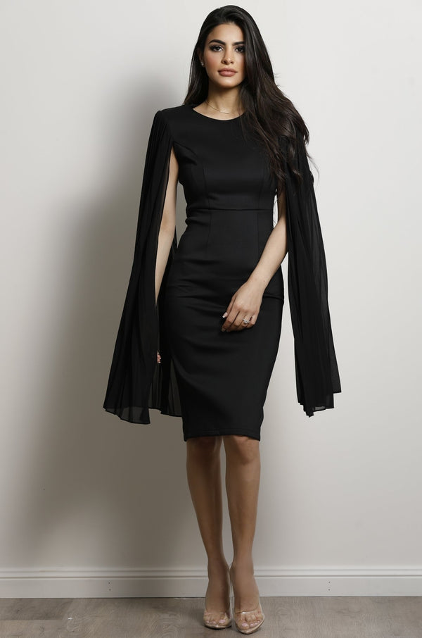 Superior Midi Dress - Black.