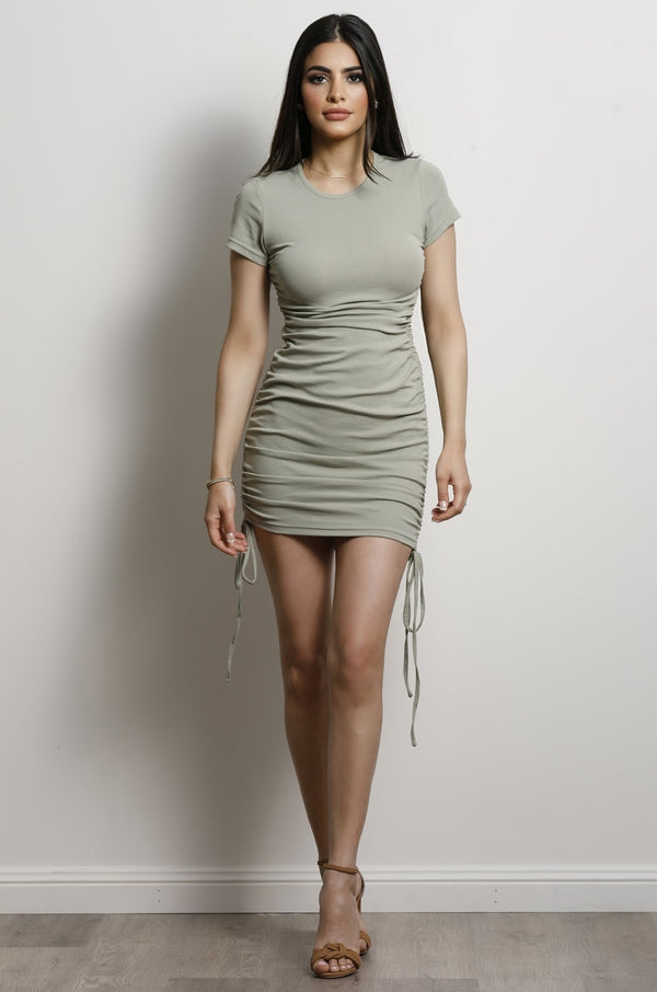 Kiki Dress- Khaki.
