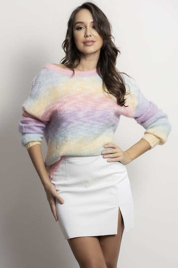 Colour my world knit- Multi.
