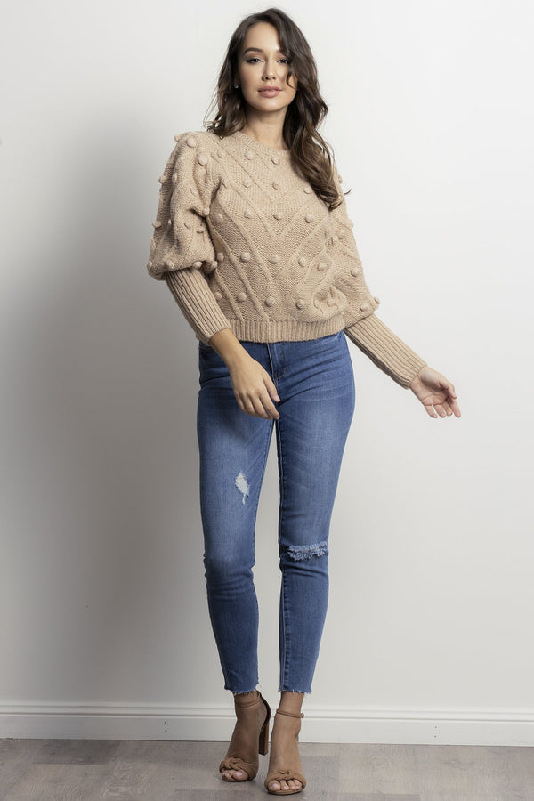 Holly Knit- Camel.