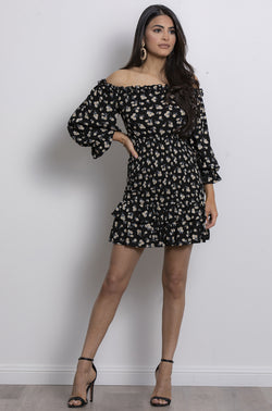 Daisy Dream Dress- Black.