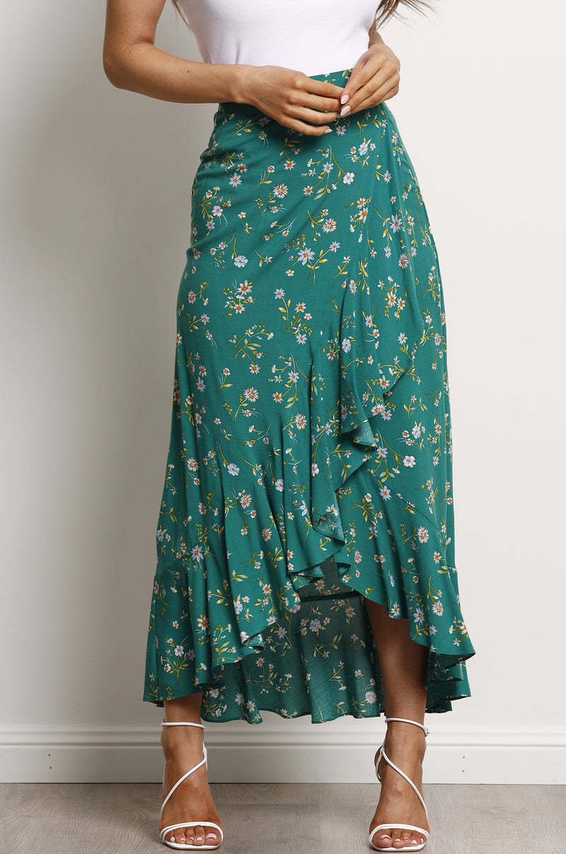 Harmony Skirt- Emerald.