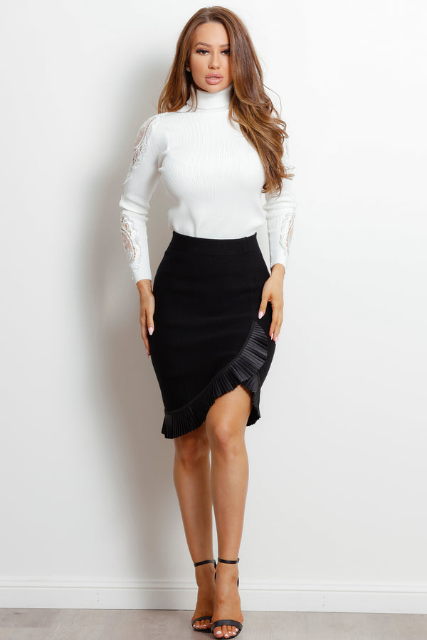 Mila Skirt- Black.