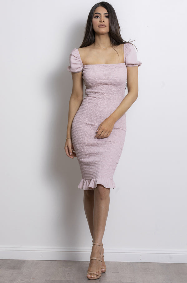 Sweet Soul Dress-Blush.