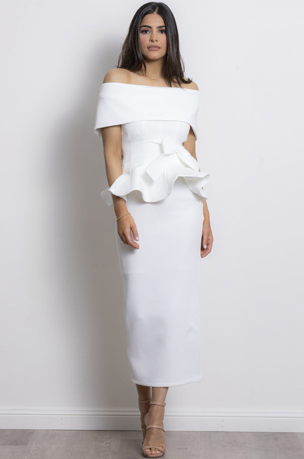 Juliana Two Piece Set - White.